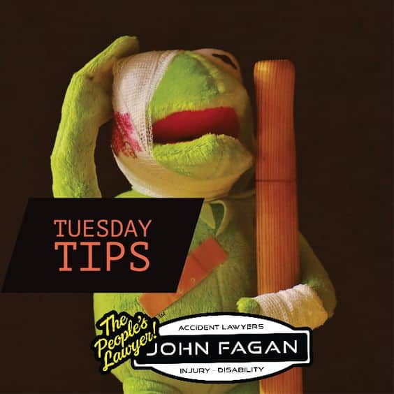 The most common #PersonalInjury questions are answered here: www.johnfagan.com #TuesdayTips