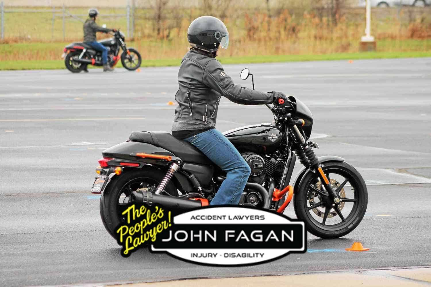Motorcycle safety: Rainy day rides require different riding skills