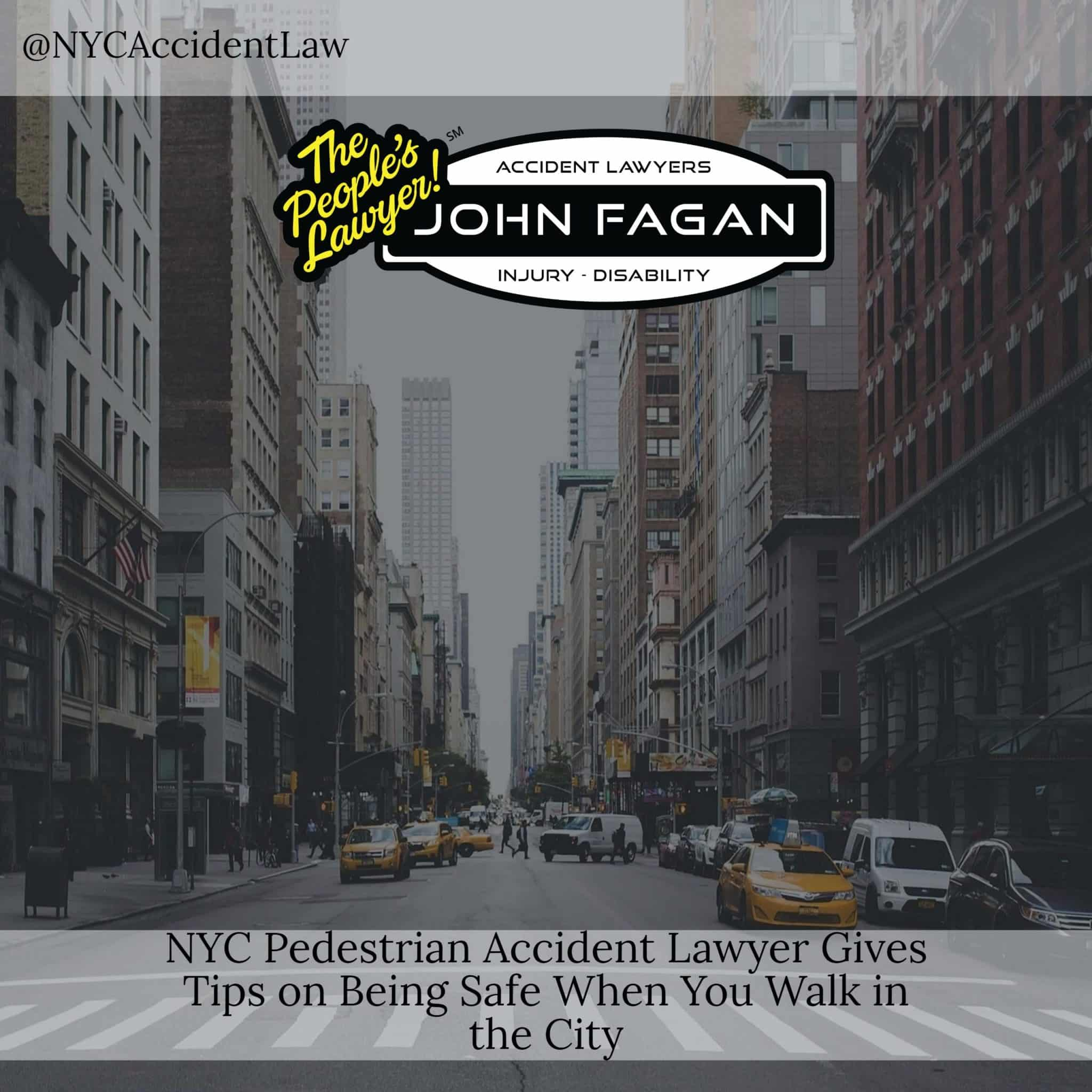 Pedestrian Accident Lawyer Gives Tips On Being Safe When You Walk In The City