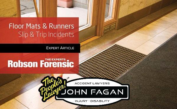 Slip & Trip Hazards Posed by Floor Mats & Runners – Expert Article