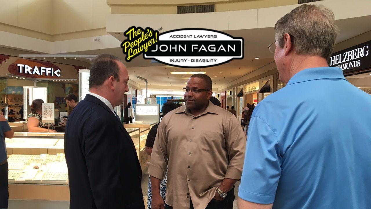 Clay sheriff walks Orange Park mall, hopes to ensure safety