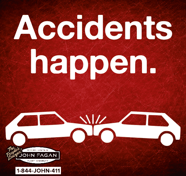 Was the holiday weekend good until the vehicle accident? Attorney John Fagan is here for you